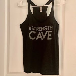 Strength Cave Funny Weight Lifting/Gym Tank 💪🏼